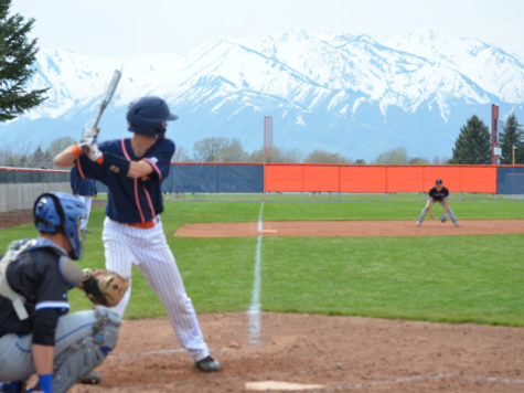 Baseball Goes Against Fremont at Home